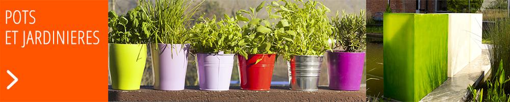 Bac à fleur, pot, jardinière : donnez vie à votre jardin