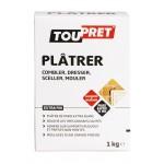 Plâtre de Paris Toupret - Boîte de 1 kg