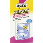 Mouches Stickers vitre Acto - Etui de 6 stickers