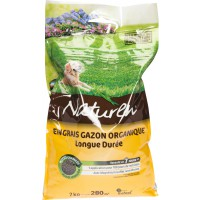 Engrais gazon organique longue durée Naturen - 7 kg