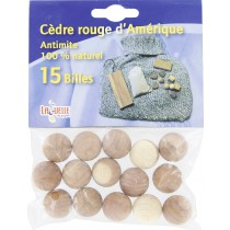 Antimites 100 % naturel Laguelle - 15 billes