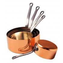 Série de 5 casseroles Baumalu - Diamètre 12 à 20 cm