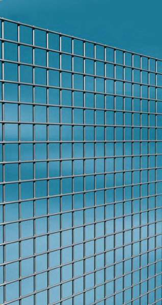 Grillage maille carrée galvanisé Cavatorta - Longueur 2,5 m - Hauteur 0,5 m - Maille 13 mm