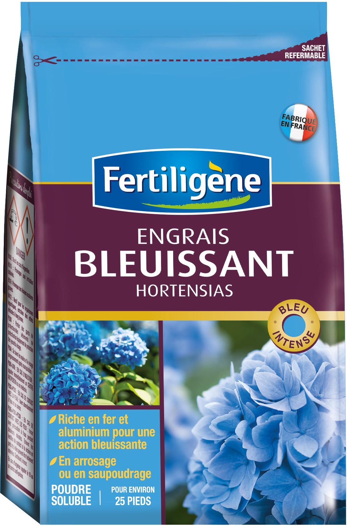 Engrais bleuissant hortensias Fertiligène - Boîte 800 g