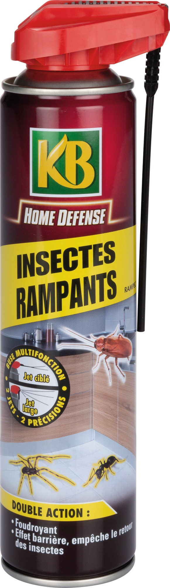 Insecticide insectes rampants KB jardin - Contenance 400 ml