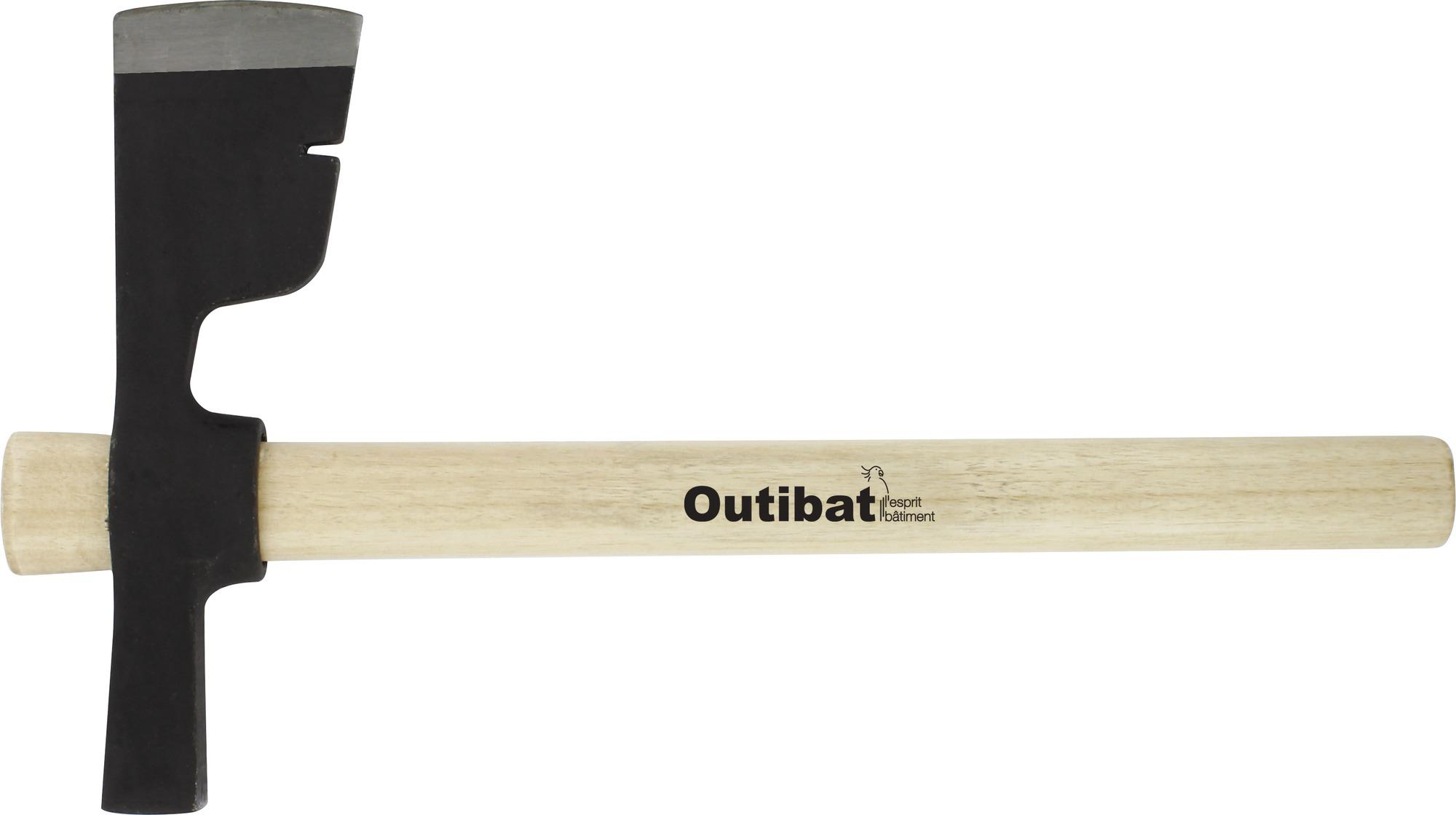 Hachette de plâtrier Outibat - 750 g