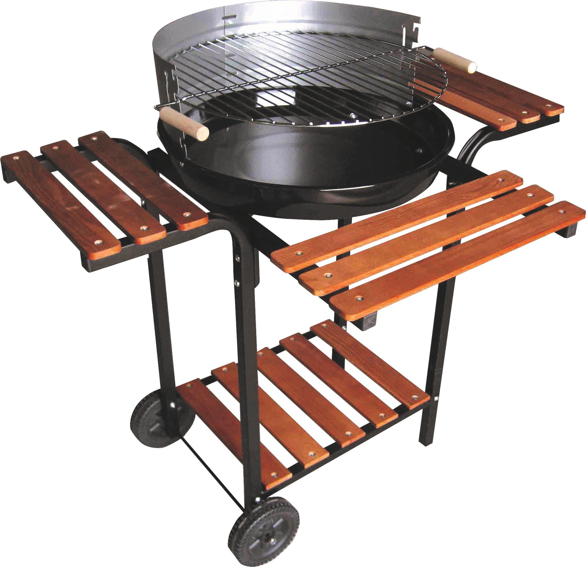 barbecue à charbon de bois Funny Friodis - surface de cuisson diametre 48.5 cm