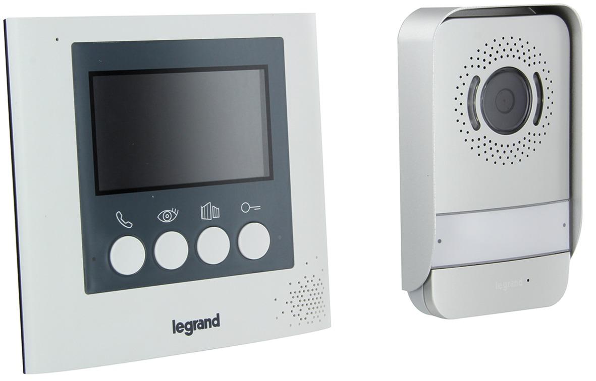 Visiophone couleur Legrand - 4,3 pouces