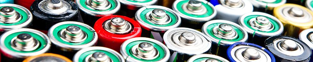 Notre rayon de piles et de batteries
