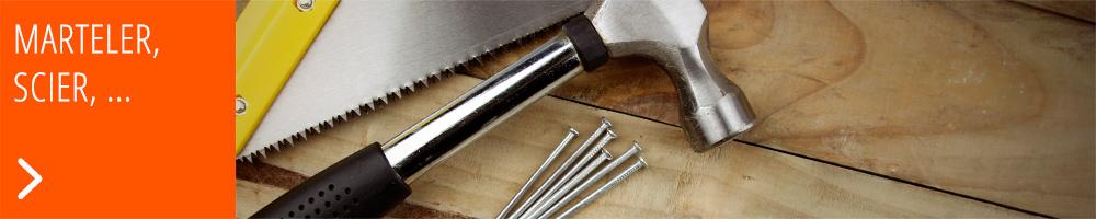 Outils de base : marteau et scie