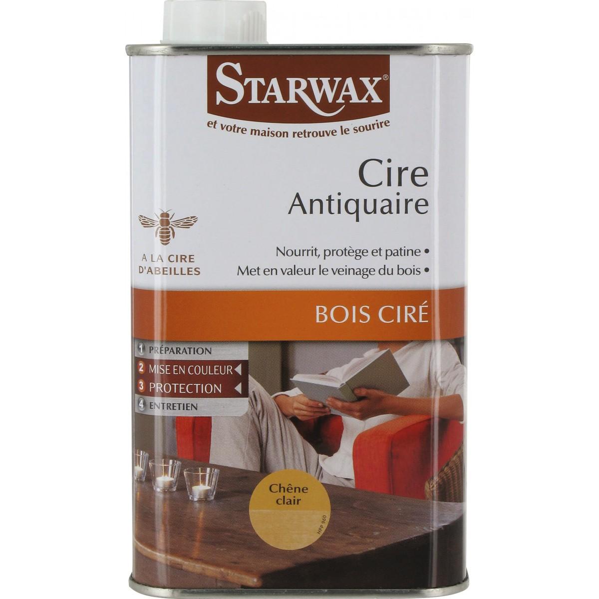 Cire antiquaire Starwax - Chêne clair - 500 ml