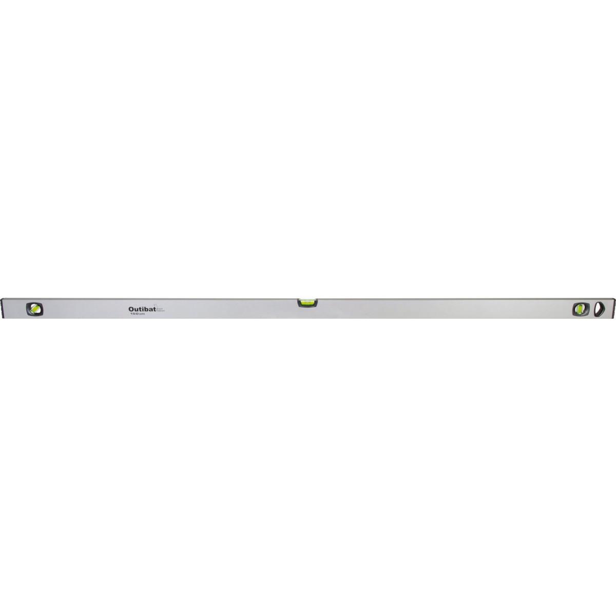Niveau profilé aluminium Outibat - Longueur 150 cm