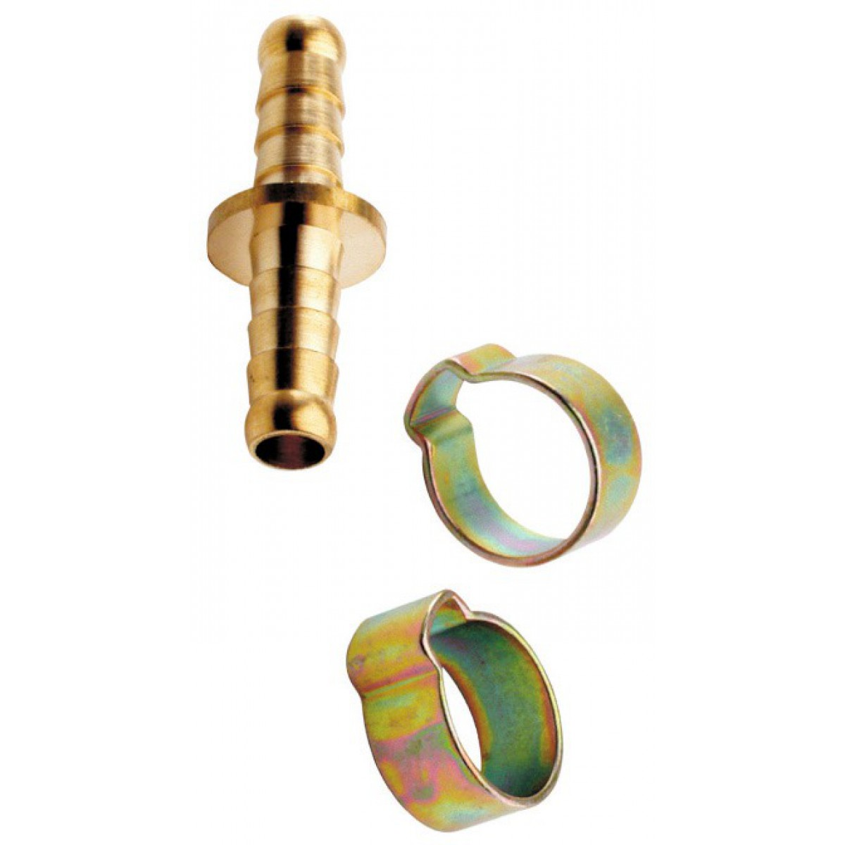 Jonction double tuyau 8x13 Mecafer