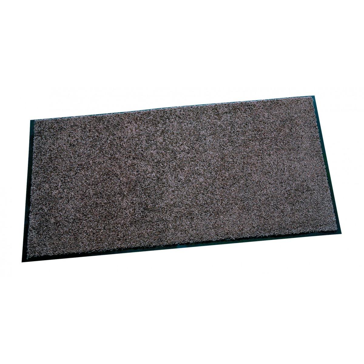 Tapis anti-poussières Mirande - Gris - Dimensions 60 x 80 cm