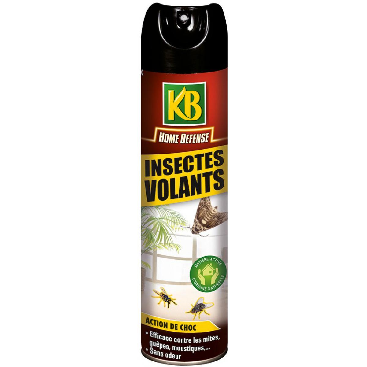 Insecte Salle De Bain Volant ~ insecticide insectes volants kb home defense a rosol 400 ml de