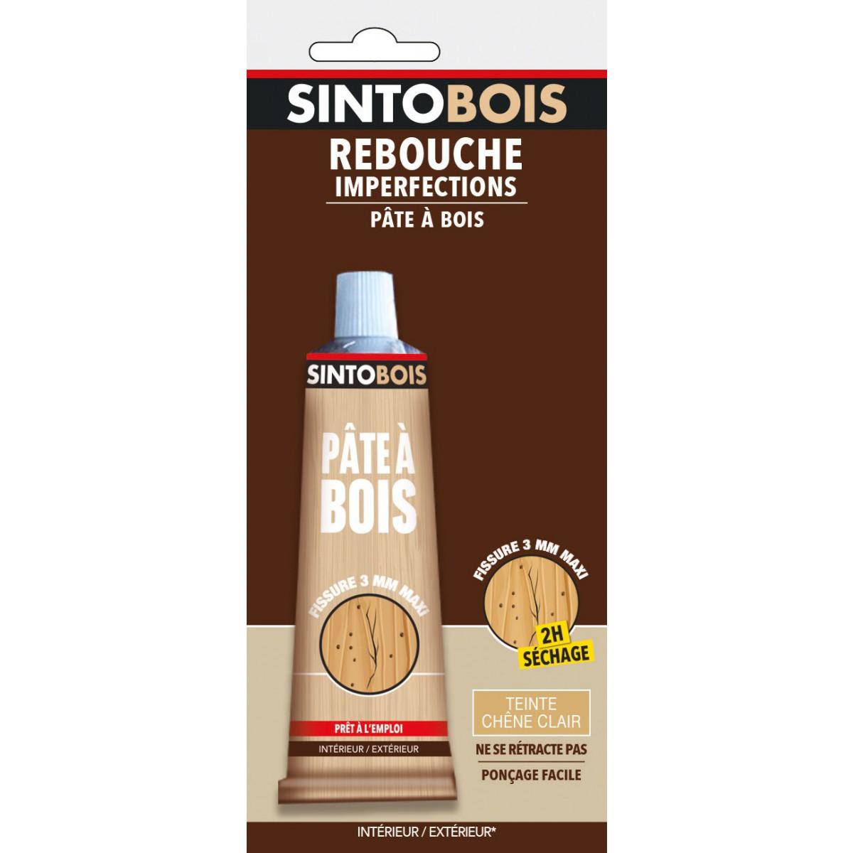 Sintobois rebouche imperfections Sinto - Chêne clair - 80 g