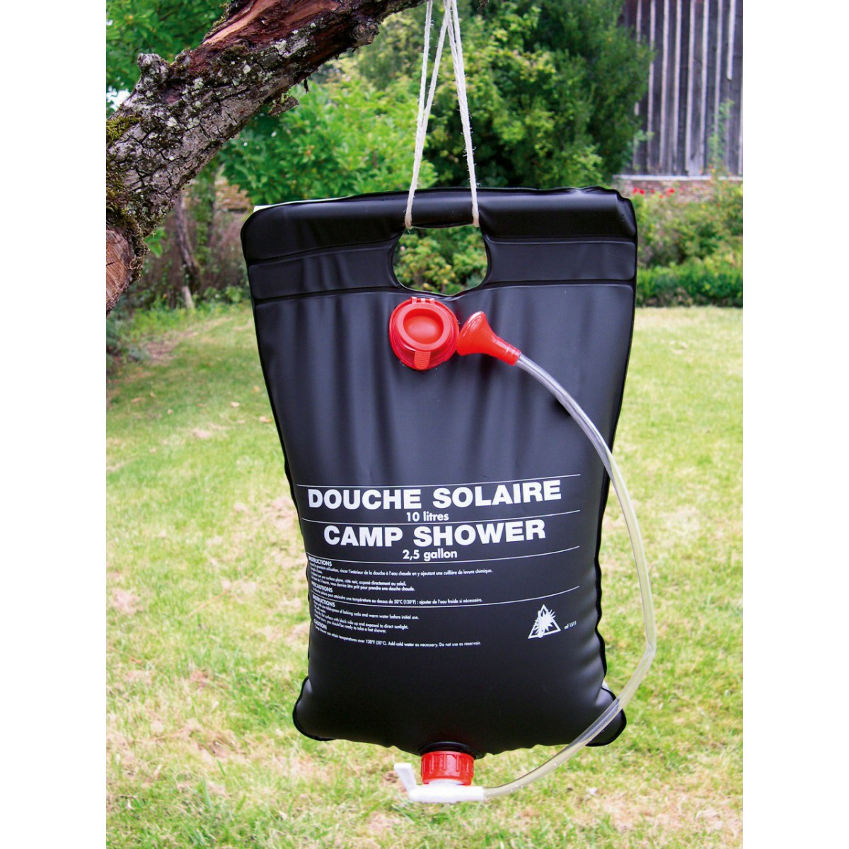 Douche solaire Cao Camping - 10 l