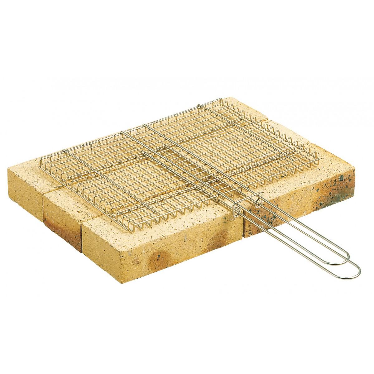Gril pour barbecue - Longueur 40 cm - Largeur 35 cm