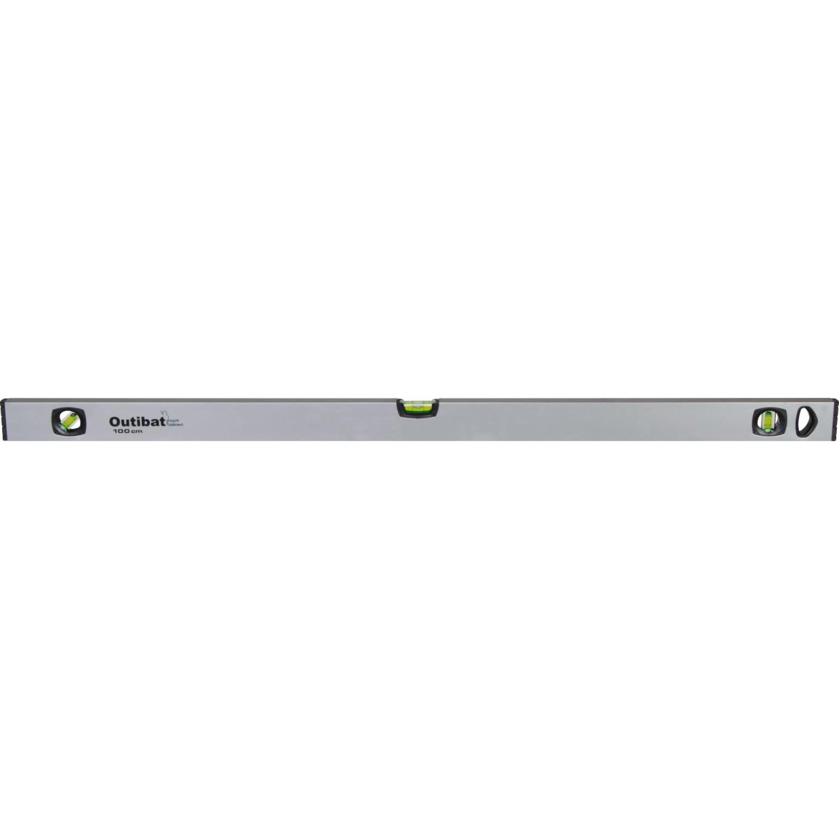 Niveau profilé aluminium Outibat - Longueur 100 cm