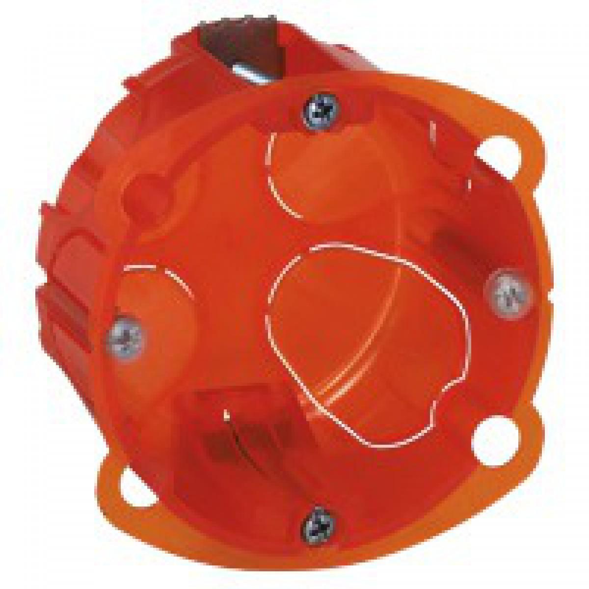 Boîte multimatériaux Legrand - 1 poste - Profondeur 40 mm