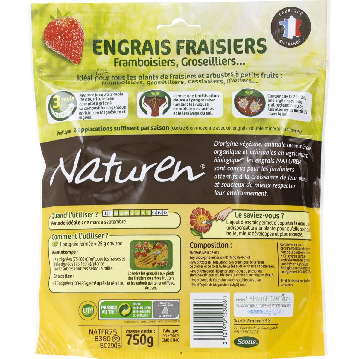 Engrais fraisiers naturen de engrais fraisier 1071909 for Engrais 3 fois 15