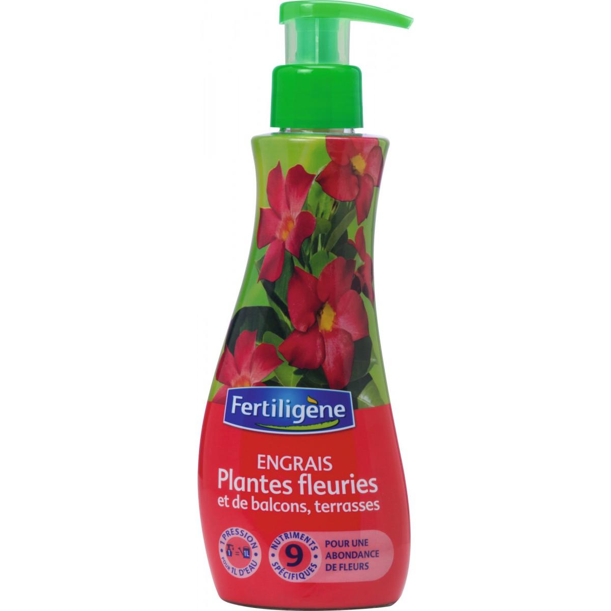 Engrais plantes fleuries et de balcons ou terrasses Fertiligène - 230 ml