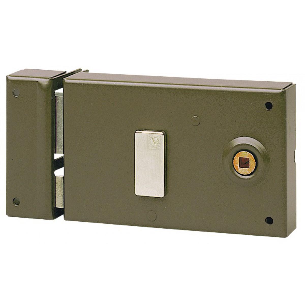 Serrure à clé bénarde horizontale à fouillot 4 gorges série Standing Vachette - Droite