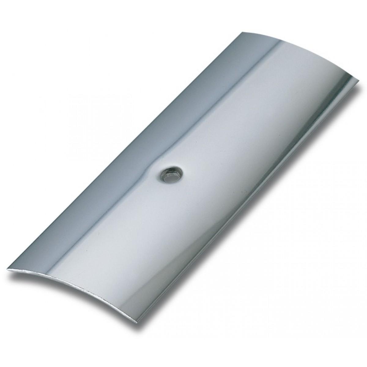 Bande de seuil adhésive inox Dinac - Longueur 166 cm - Largeur 30 mm
