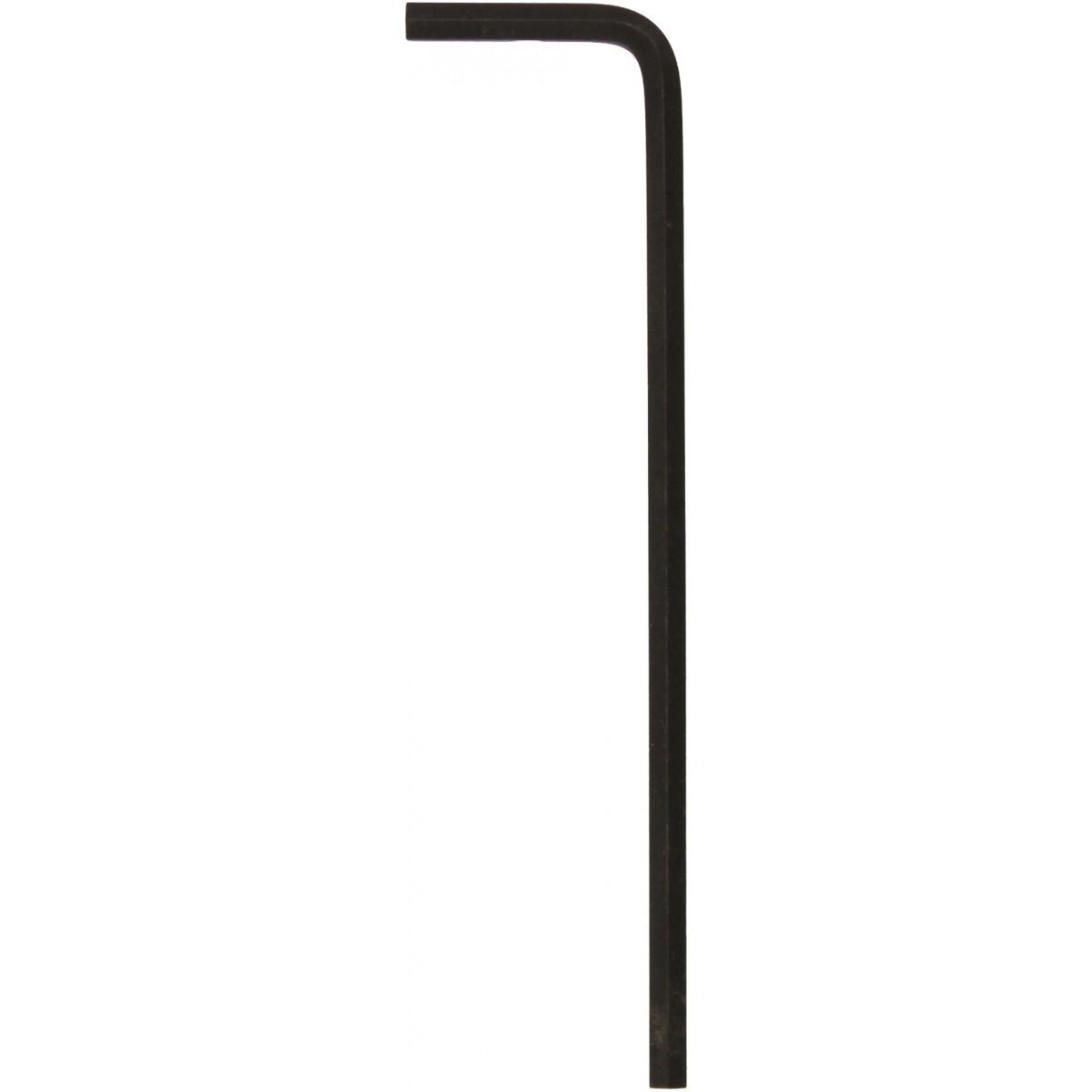 Clé mâle coudée série longue Facom - Dimensions 10 mm