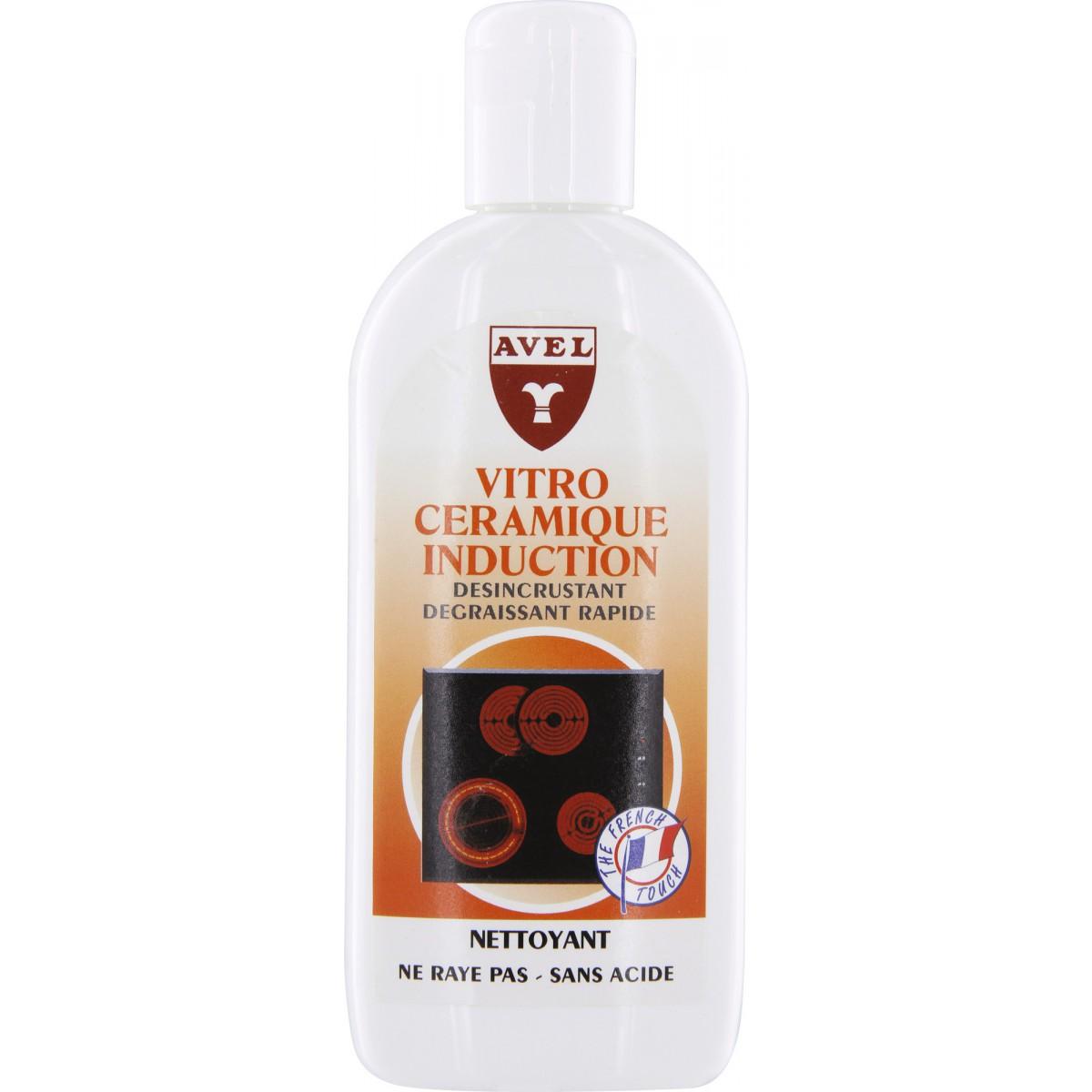 Nettoyant vitrocéramique et induction Avel - Flacon 250 ml