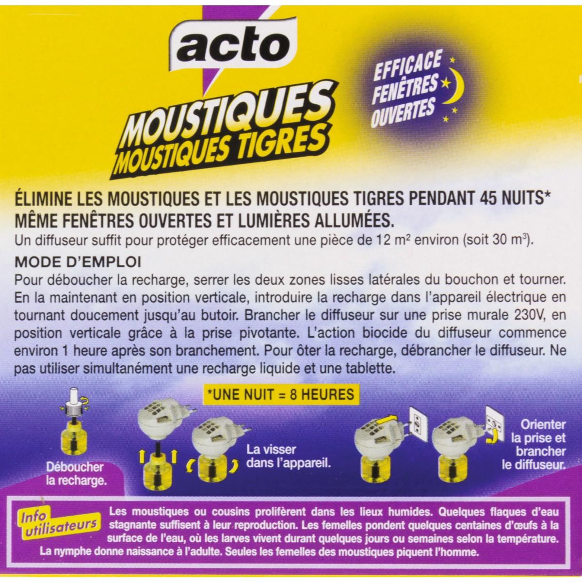 Moustiques diffuseur électrique Acto