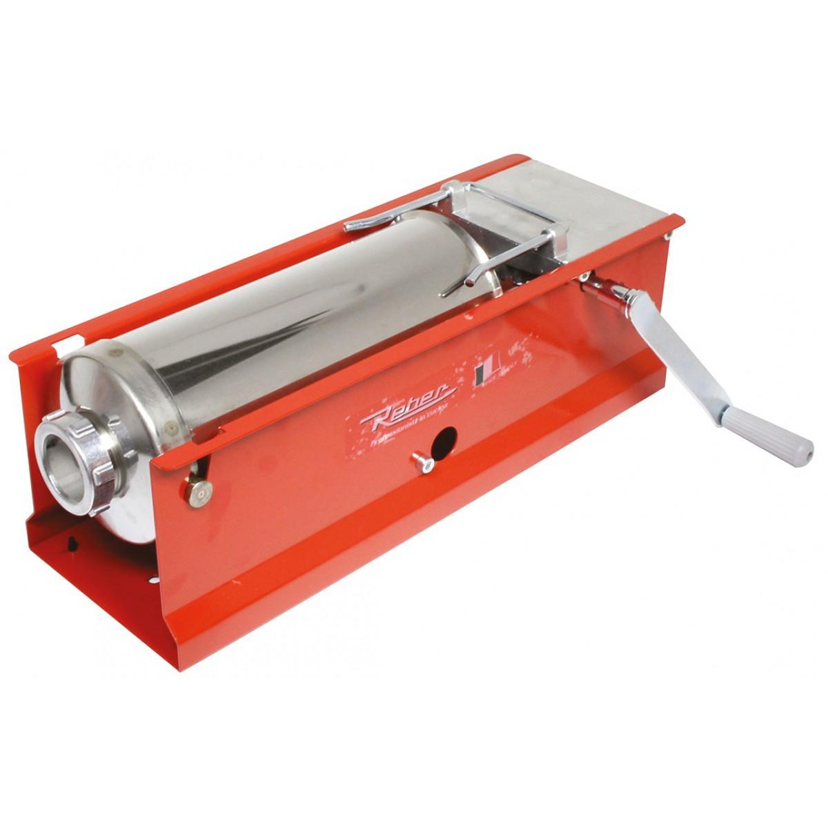 Poussoir à saucisse manuel 8951N Reber - Horizontal - Capacité 8 kg