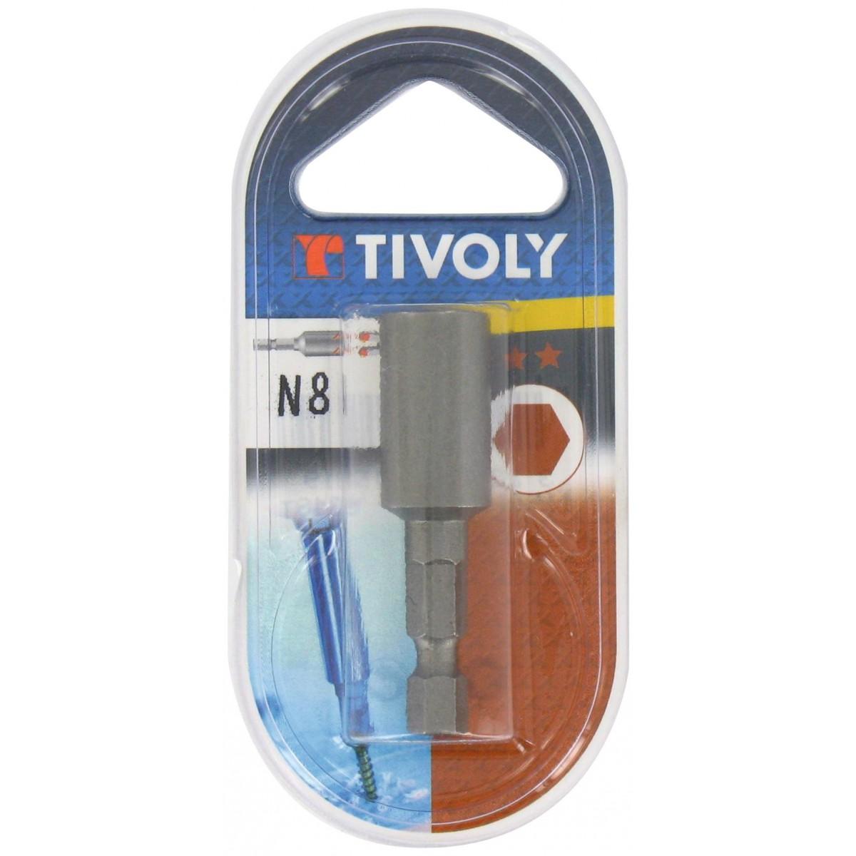 Embout noix de serrage 38 mm Tivoly - Dimensions 13 mm - Vendu par 1