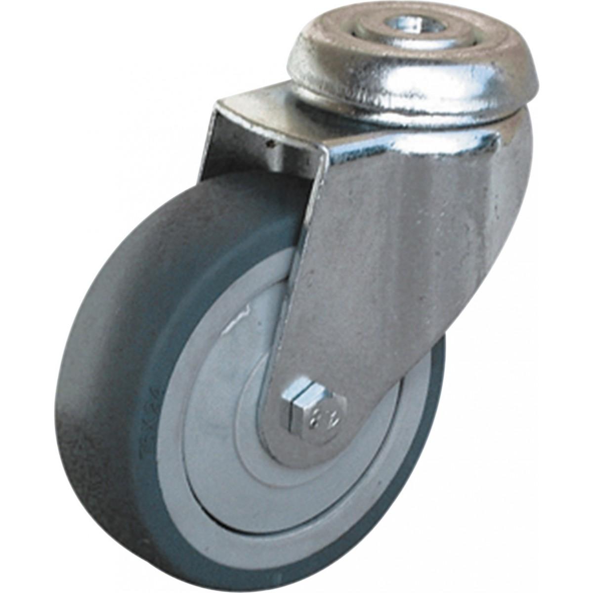 Roulette Uniroll à oeil pivotante - Diamètre 50 mm