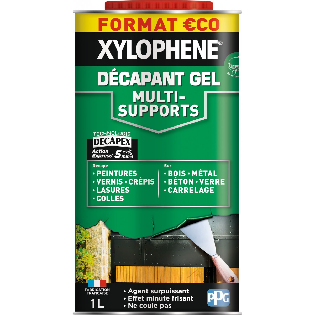 Décapant gel multi-supports Xylophène - 1l