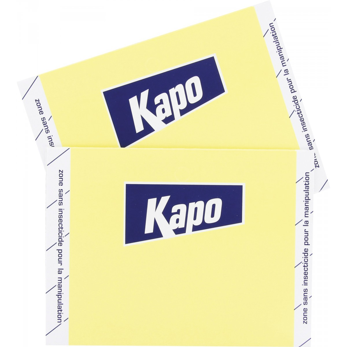 Papier anti-mites imprègné Kapo Expert - 2 bandes