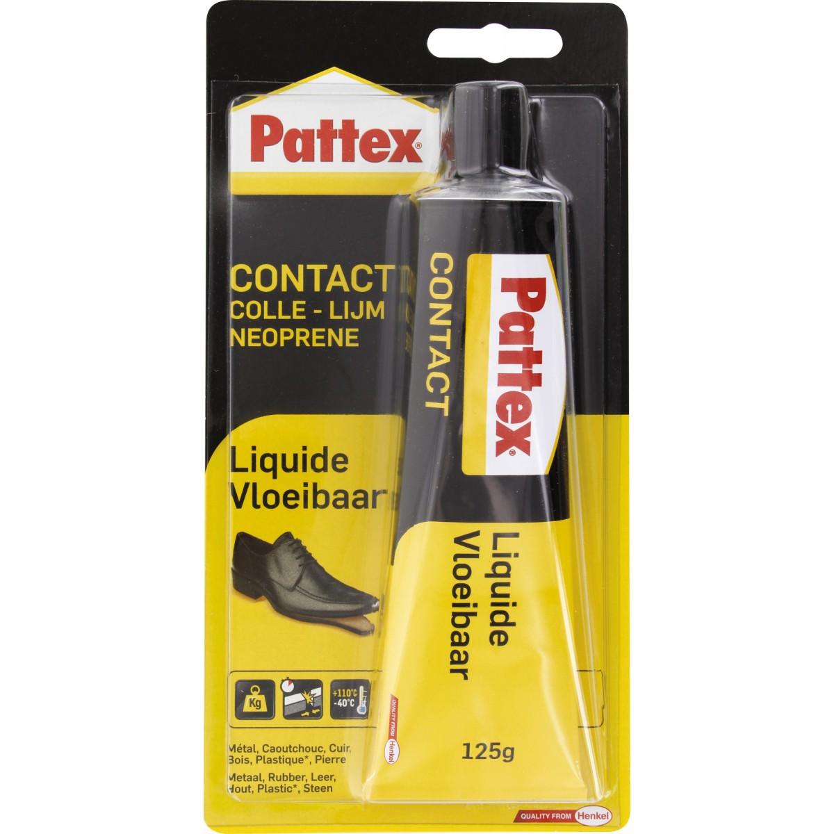 Colle contact Néoprène Pattex - Liquide - Tube 125 g