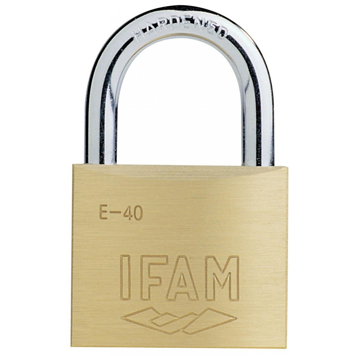 Cadenas laiton haute résistance Ifam - Anse 6 mm - Longueur 40 mm