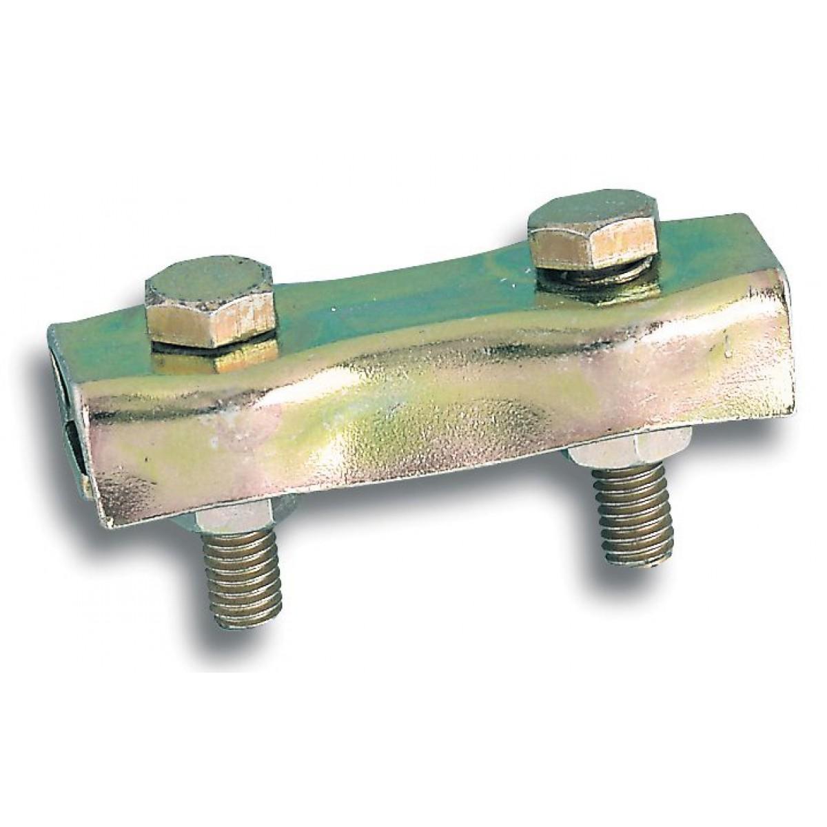 Serre-câble plat à 2 boulons Chapuis - Diamètre Câble 2 mm - Vendu par 2