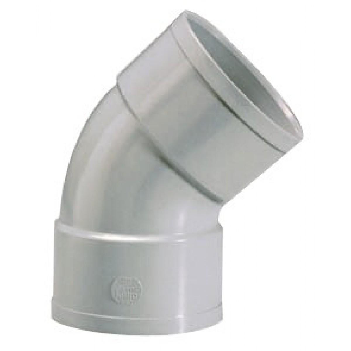 Coude à 45° Femelle / Femelle Girpi - Diamètre 50 mm