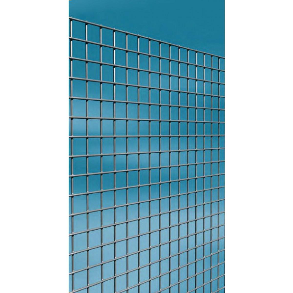 Grillage maille carrée galvanisé Cavatorta - Longueur 5 m - Hauteur 0,5 m - Maille 13 mm