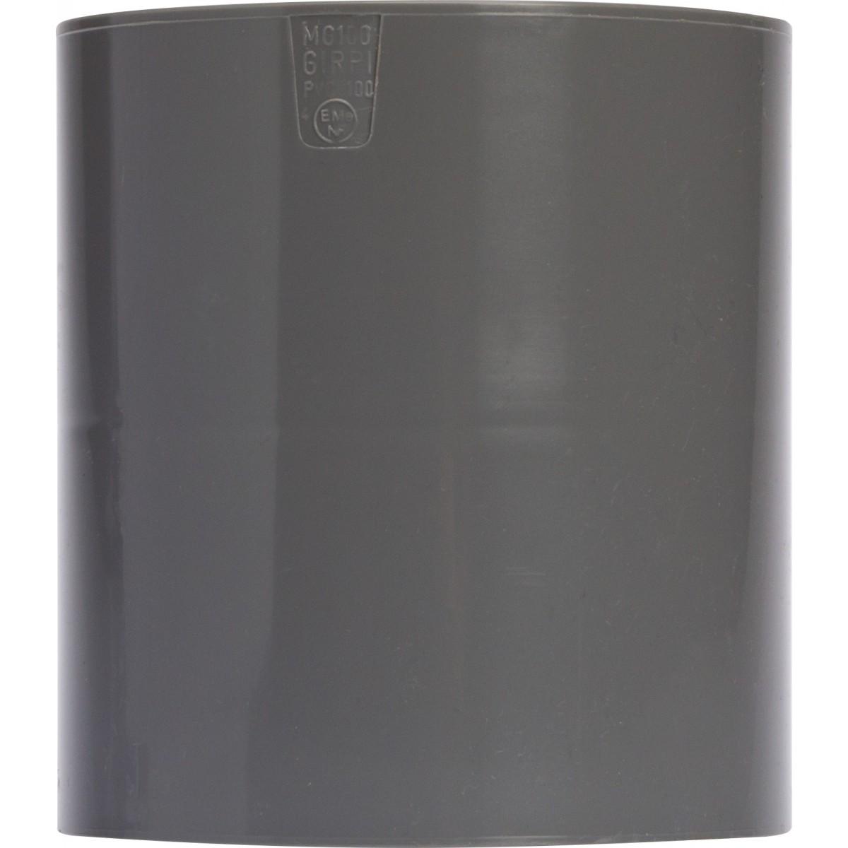 Manchon avec butée intérieure Femelle / Femelle Girpi - Diamètre 100 mm