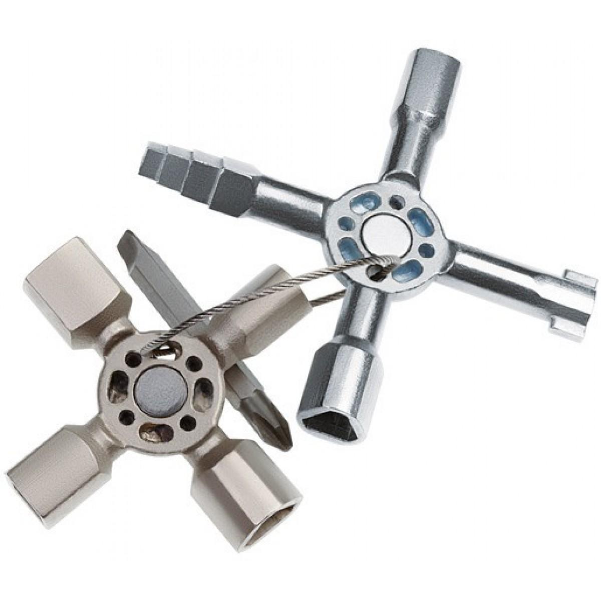 Clé multifonctionnelle TwinKey® Knipex - 92 mm