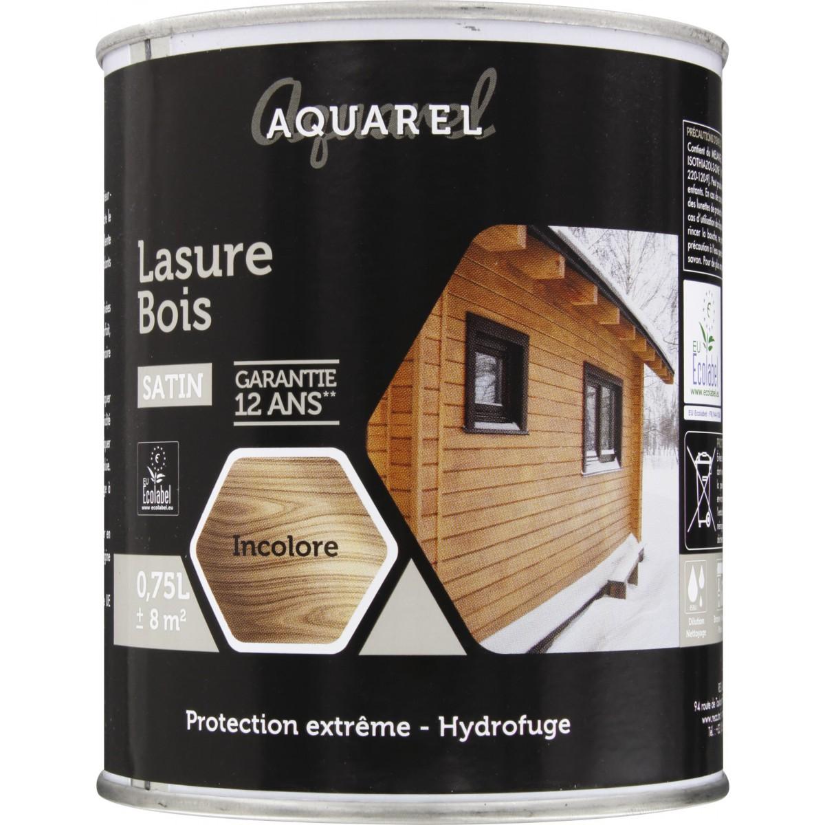 Lasure Aquarel Reca - 0,75 l - Incolore