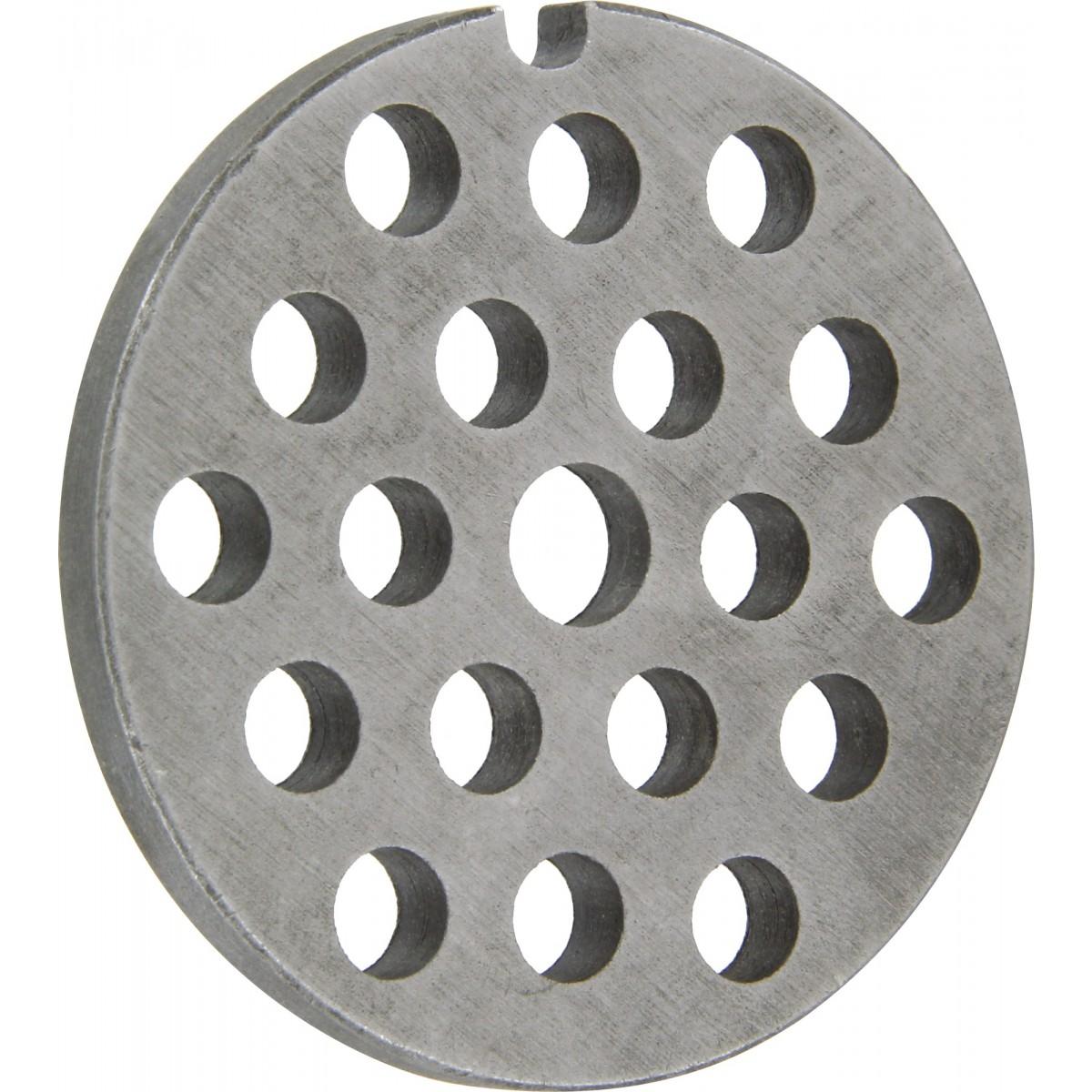 Grille pour hachoir manuel - Pour n°10 - Diamètre trou 8 mm