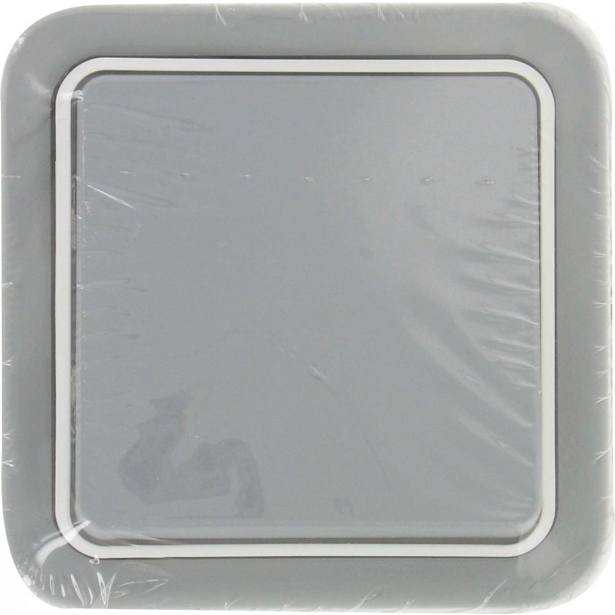 Poussoir en saillie Legrand - Plexo - Gris - Simple