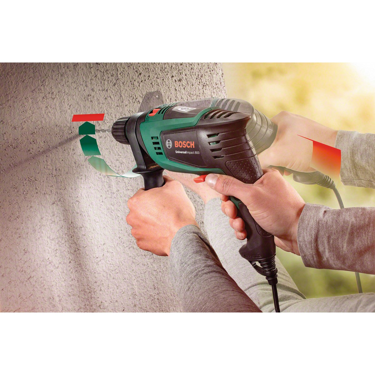 Perceuse à percussion filaire UniversalImpact 800 - 800W - Bosch