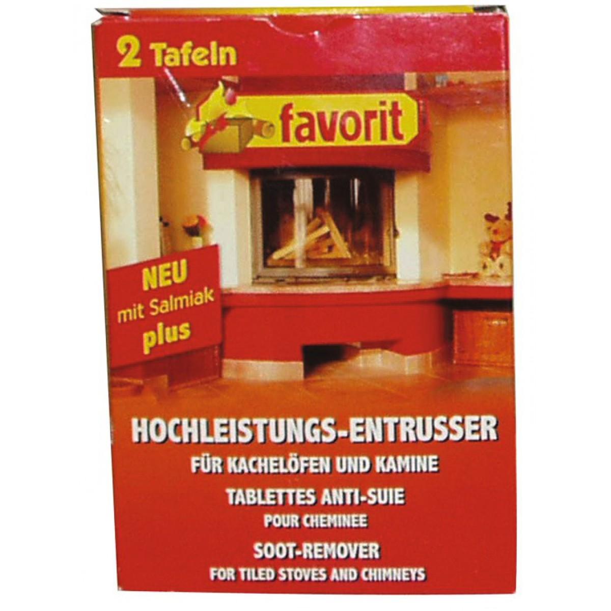 Plaque anti-suie pour cheminée et poêle Favorit - Vendu par 2