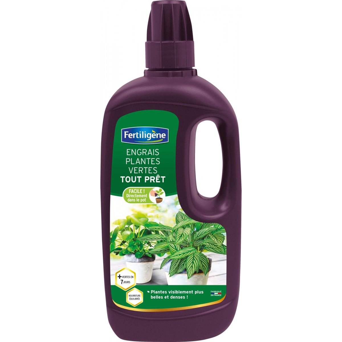Engrais plantes vertes tout prêt Fertiligène - 1 l