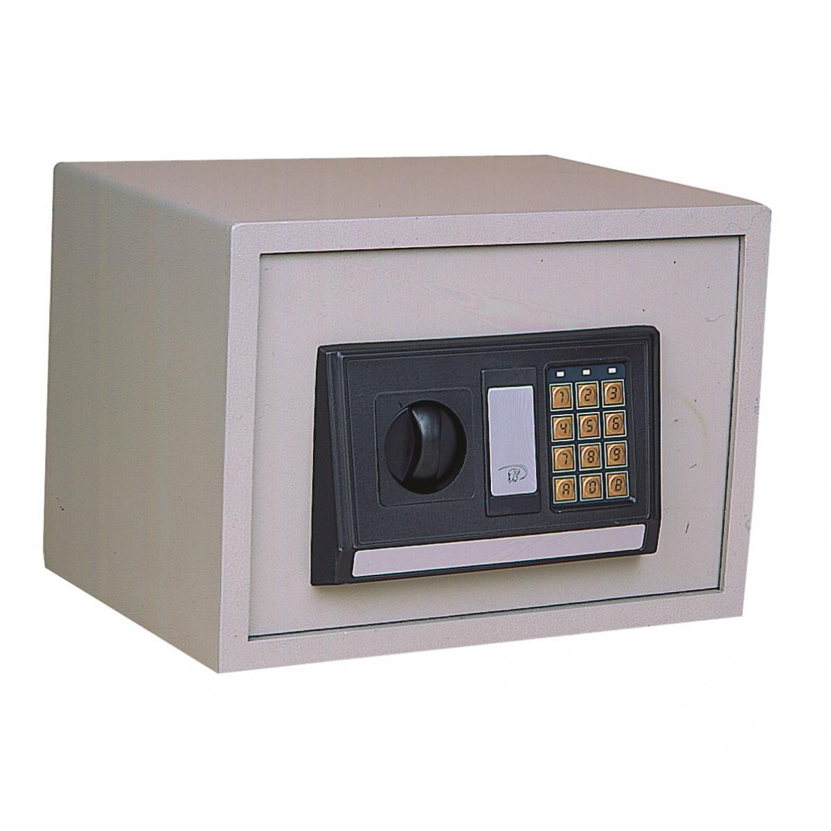 coffre fort poser pr lude lectronique decayeux beige. Black Bedroom Furniture Sets. Home Design Ideas